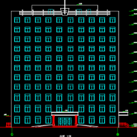 10867平米11层框剪办公楼毕业设计(含图纸、计算表)
