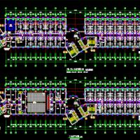 沈阳19层希尔顿逸林酒店建筑设计方案图