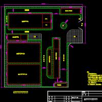 6万吨超滤自来水厂工艺规划设计图