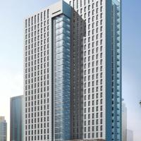 某科技创业园25层办公楼建筑施工图(含效果图)