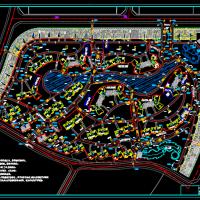 某住宅小区道路做法施工设计图(混凝土路面)