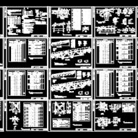 某设计院编制的钢桁架图集(TS2000-4)