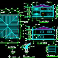二层农村别墅自建房建筑设计图纸
