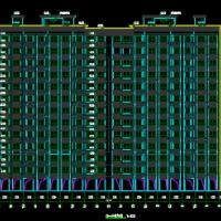 浙江7836 平米13层框剪住宅楼建筑结构施工图纸