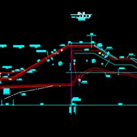 河南某抽水蓄能电站水库设计图