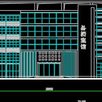 某县4层档案馆建筑方案图纸
