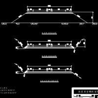 路基典型横断面课程设计图