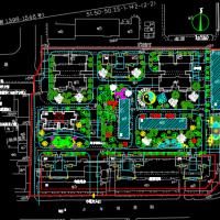 2.5公顷住宅小区规划方案图