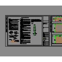 模块化垂直绿化生态种植容器CAD施工图纸