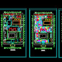 某地三层办公综合楼地板辐射采暖施工图