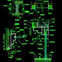 自动感应门和自动门节点详图