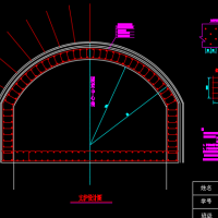 全长168米分离式独立双洞双向四车道公路短隧道毕业设计
