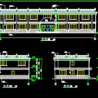 二层办公楼建筑及结构全套施工图纸