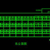 734平米三层框架结构小学教学楼建筑及结构全套图