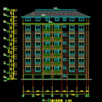 七层框架住宅施工组织设计及工程量清单(含建筑、结构图,平面图,网络图)
