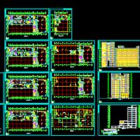 某地11层办公楼建筑设计施工图
