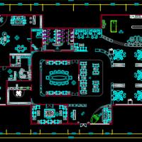现代办公空间装修设计全套图纸