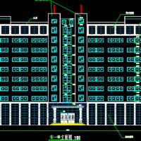 13981平米高层办公楼建筑设计施工图