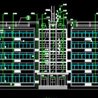 4638平米五层办公楼建筑设计图纸