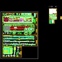 某屠宰场建筑设计施工图