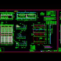 双层机械式车位CAD设计施工图纸
