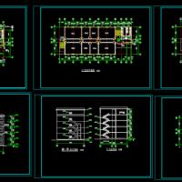 五层化学实验室教学楼建筑设计课设图