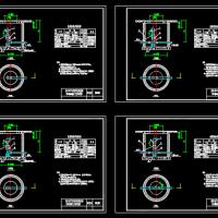 室外地下式消火栓安装图(01S201)
