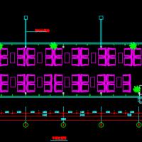 阳光房设计cad施工图
