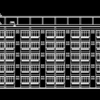4022平米中学学生宿舍楼毕业设计(含计算书,图纸)