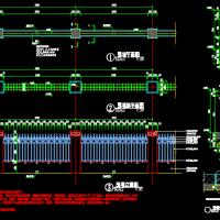 某小区铁艺围墙CAD施工图