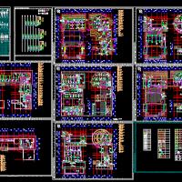 中央空调系统设计全套图