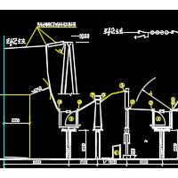 110kV变电站土建建筑图及电气一次图