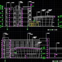 泗洪县商务楼施组及工程量计价清单(建筑图 结构图 施工总平面 横道图)