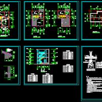 8.95X11.4四层农村自建房建筑图