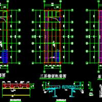 楼承板结构配筋节点构造详图