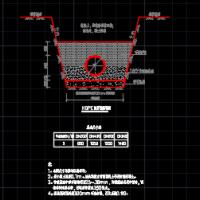 市政道路排水结构图(HDPE管检查井)
