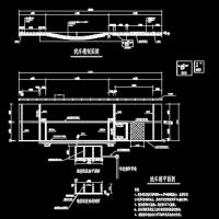 建筑工地洗车槽建筑设计图纸