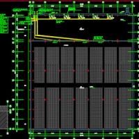 4519平米大型冷库电气设计图纸