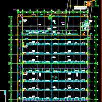 大型厂房通风防排烟设计图