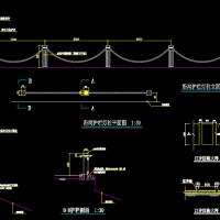 某地滨河公园园林景观设计施工图