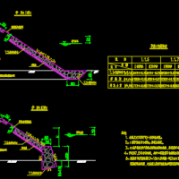 浆砌片石护坡设计施工图
