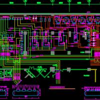 地下室冷冻机房热交换间设计图