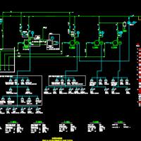 消防喷淋系统流程图