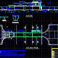 排水涵闸CAD施工图