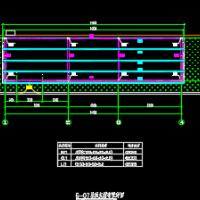 简易钢结构彩钢房CAD设计施工图