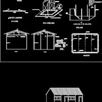 彩钢板活动房施工步骤图纸
