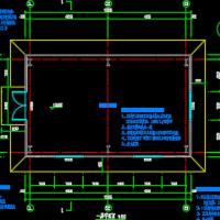 彩钢房建筑及结构设计施工图