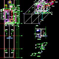 消防水泵房给排水设计大样图(含设备表)