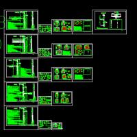 某地城市道路工程综合杆设计图(指示牌 路灯杆等)