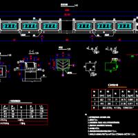 双孔4×4m箱涵CAD施工图纸(2016年)